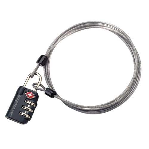 Eagle creek TSA Zahlenschloss 3 Dial Cable Lock Graphite