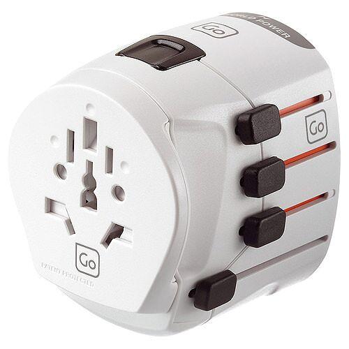 Go Travel Multifunktionaler Adapter Weiß