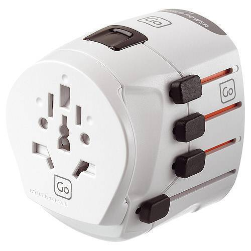 Go Travel Multifunktionaler Adapter Weiß
