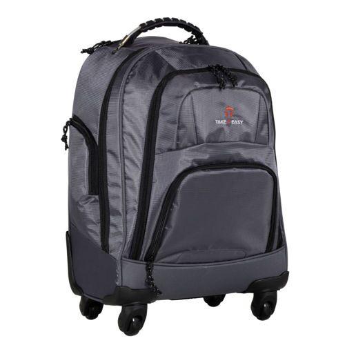 Take it Easy Rucksack Trolley Bag Grau