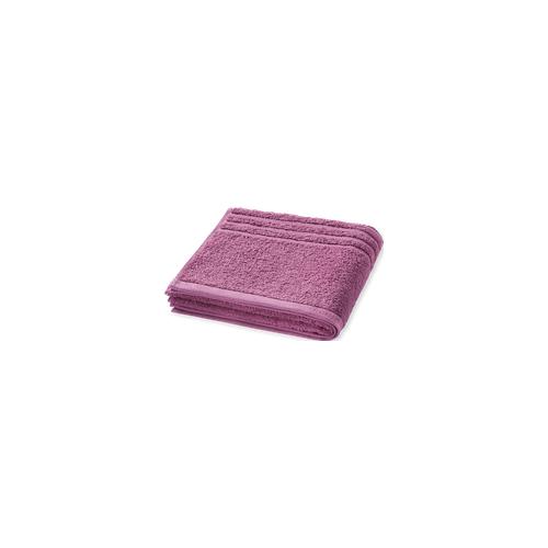 Schiesser Handtuch Struktur 50x100 malve - SCHIESSER Home 50*100