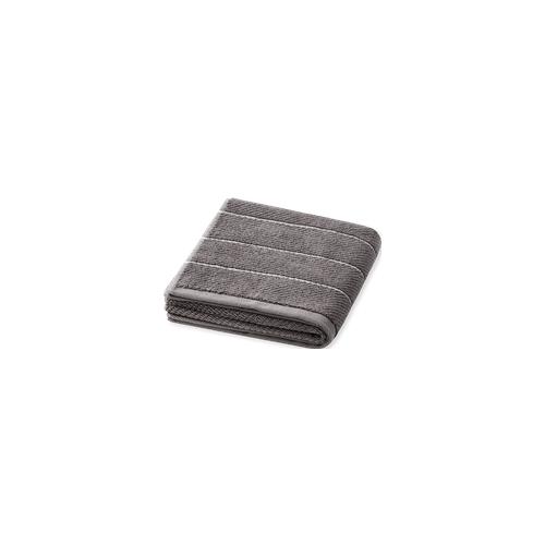 Schiesser Handtuch Streifen 50x100 graphit - SCHIESSER Home 50*100