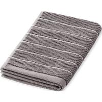Schiesser Gästetuch Streifen 30x50 graphit - SCHIESSER Home 30*50