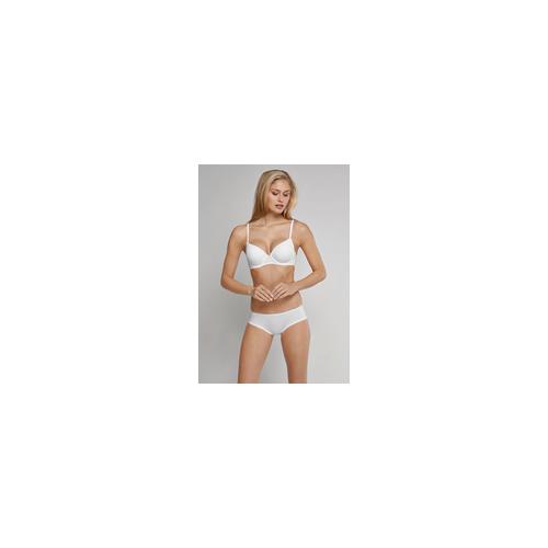Schiesser Bikini Hipster Micro-Qualität mit Spitze weiß - Pure Micro für Damen 38