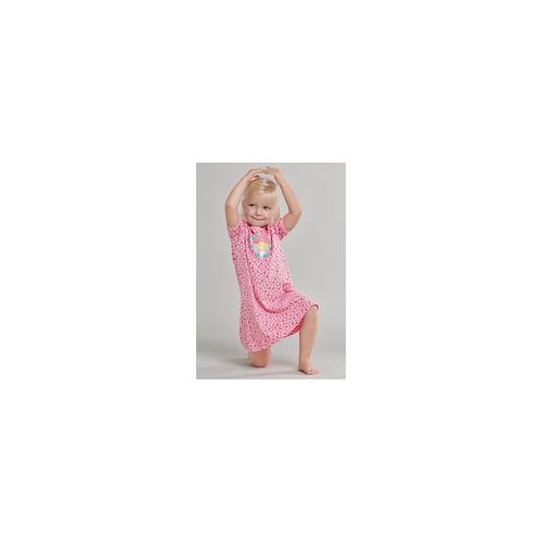 Schiesser Nachthemd Leo-Print Dschungel rosa - Prinzessin Lillifee für Mädchen 98