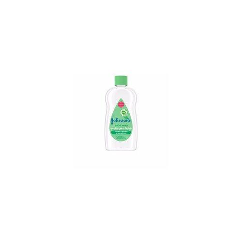 Johnson's BABY aceite aloe vera 500 ml