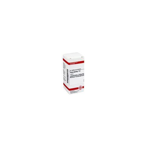 DHU-ARZNEIMITTEL PANAX GINSENG D 6 Tabletten 80 Stück