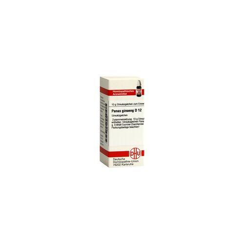 DHU-ARZNEIMITTEL PANAX GINSENG D 12 Globuli 10 Gramm