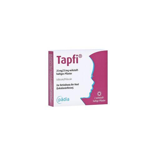 Pädia GmbH Tapfi 25mg/25mg Pflaster 2 Stück