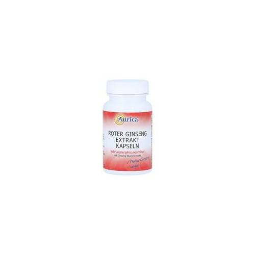 Aurica ROTER GINSENG Extrakt Kapseln 300 mg 60 Stück