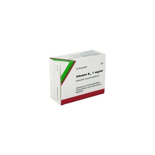 Wiedemann Vitamin B12 1mg/ml Wiedemann Ampullen 10 Stück