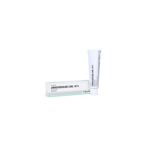 Abanta Pharma GmbH Zinkoxidsalbe LAW Salbe 50 Gramm