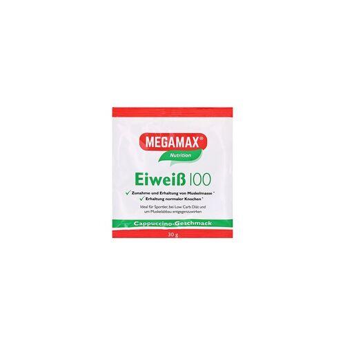 Megamax B.V. Eiweiss 100 Cappuccino Megamax Pulver 30 Gramm