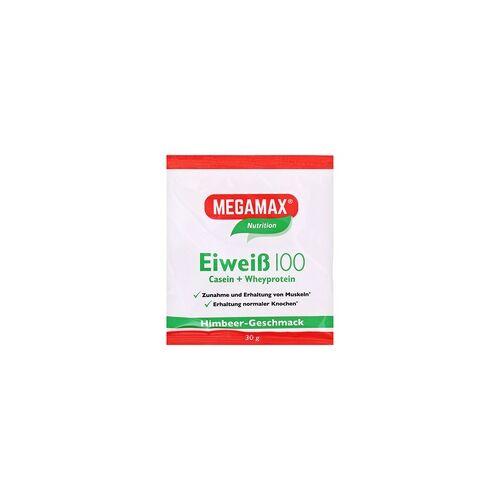 Megamax B.V. Eiweiss 100 Himbeer Megamax Pulver 30 Gramm