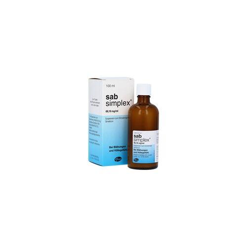 Pfizer Pharma PFE GmbH Sab simplex Suspension zum Einnehmen Suspension zum Einnehmen 100 Milliliter