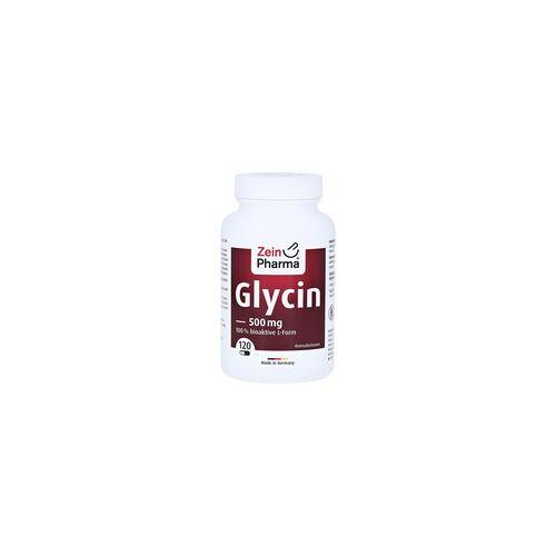 ZeinPharma GLYCIN 500 mg in veg.HPMC Kapseln ZeinPharma 120 Stück