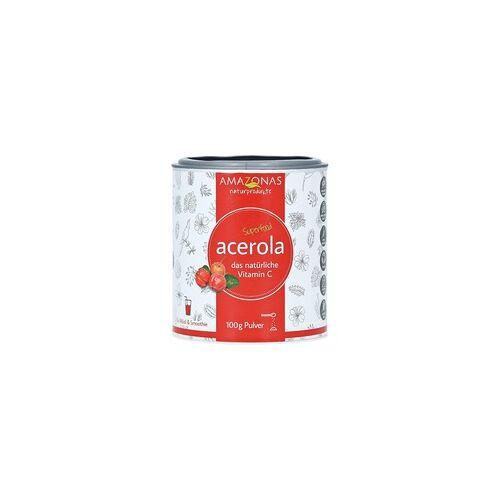 Amazonas Acerola 100% Natürliches Vitamin C Pulver 100 Gramm