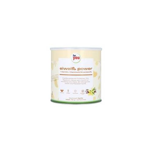For You eHealth GmbH FOR YOU Eiweiß Power Vanille 750 Gramm