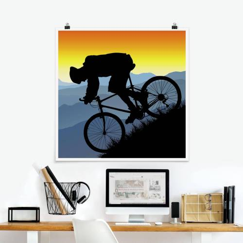 Poster Downhill