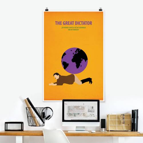 Poster Filmposter The great dictator