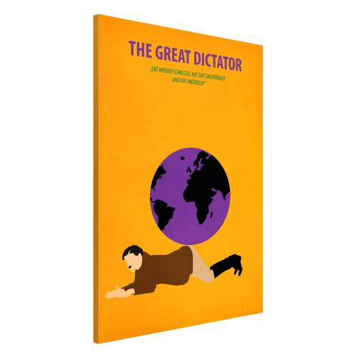 Filmposter The great dictator