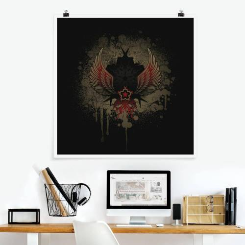 Poster Gothic Stern