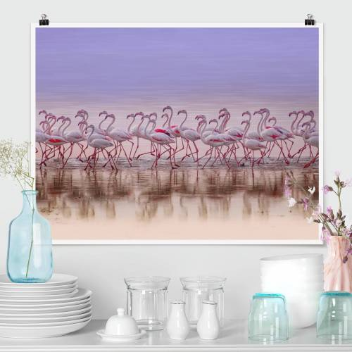 Poster Flamingo Party