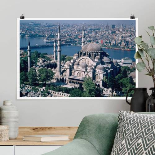 Poster Moschee Istanbul