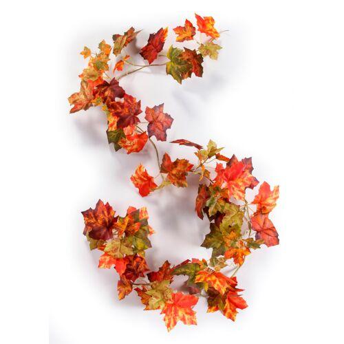 bonprix Kunstpflanzengirlande aus Herbstlaub rot