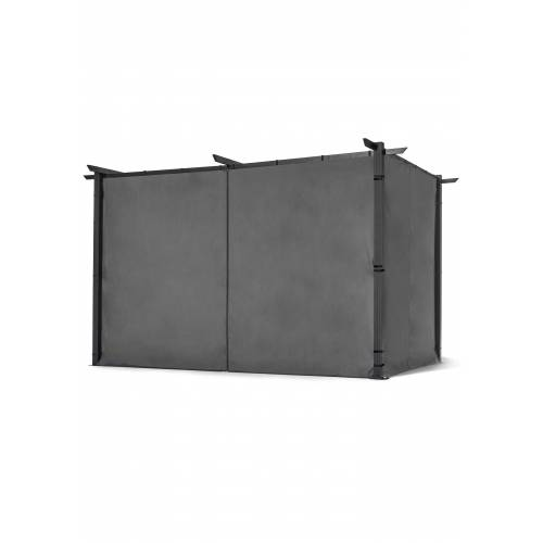 bonprix Sichtschutzwände für Pavillon freistehend (2-tlg.Set) grau