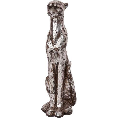 bonprix Deko-Figur Panther silber