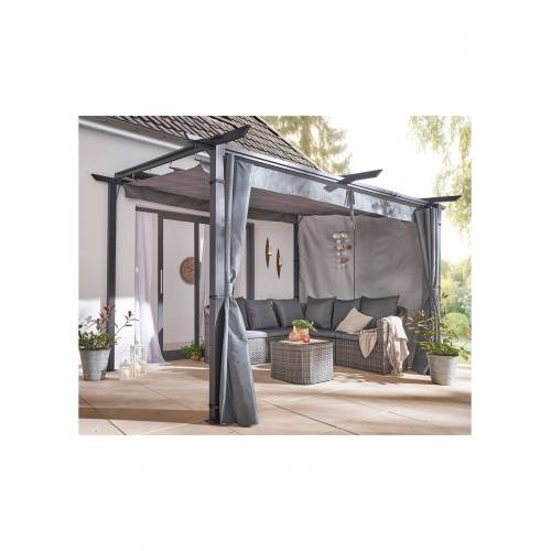 bonprix Pavillon open air zur Wandbefestigung grau