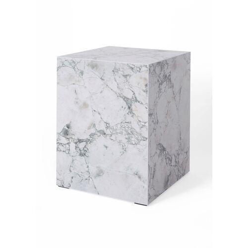 bonprix Beistelltisch in Marmor Optik weiß