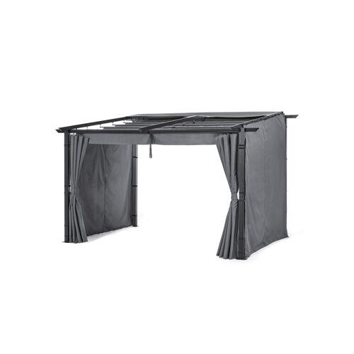 bonprix Sichtschutzwände für Pavillon Wandbefestigung (3-tlg.Set) grau