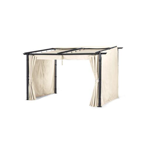 bonprix Sichtschutzwände für Pavillon Wandbefestigung (3-tlg.Set) beige