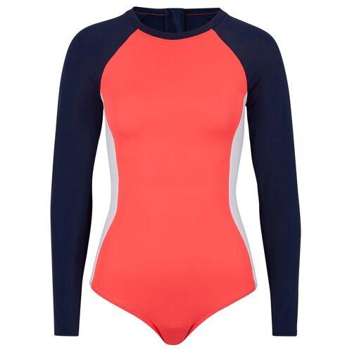 bonprix Badeanzug schnelltrocknend blau