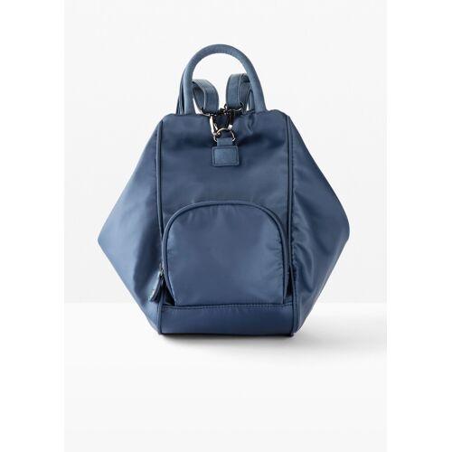 bonprix Taschen-Rucksack blau