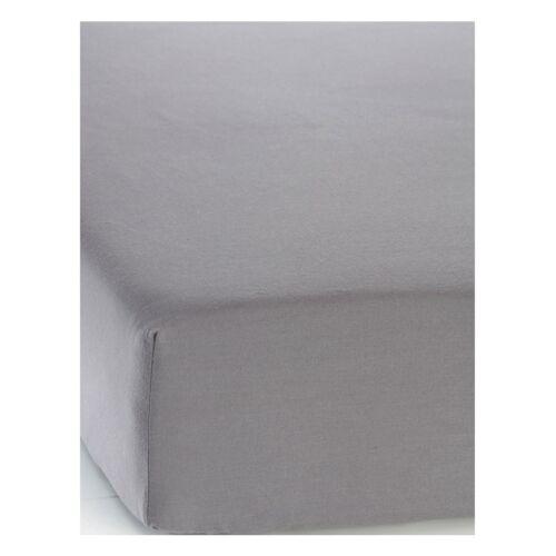 bonprix Linon Spannbettlaken grau