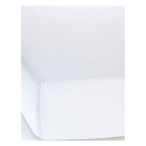 bonprix Linon Spannbettlaken weiß