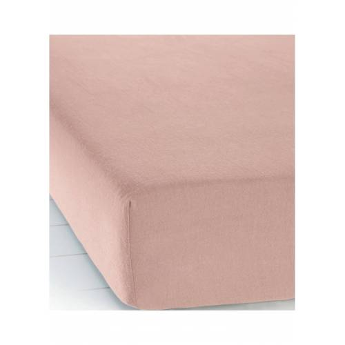 bonprix Biber Spannbettlaken rosa