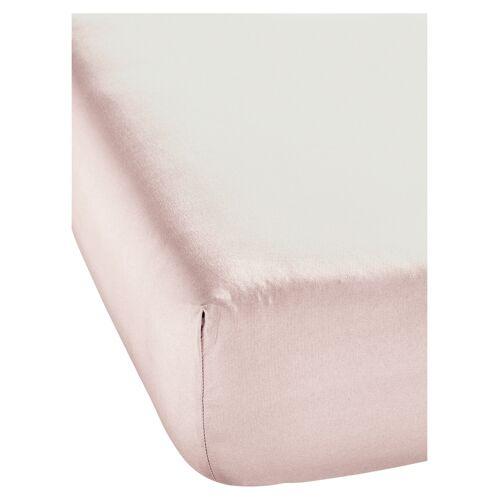 bonprix Microfaser Spannbettlaken rosa