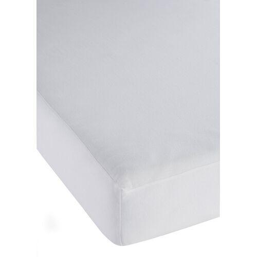 bonprix Wasserdichtes  Spannbettlaken weiß