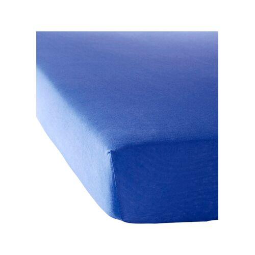bonprix Jersey Spannbettlaken blau