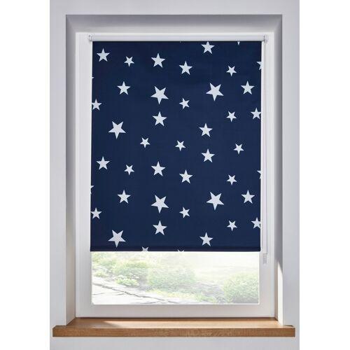 bonprix Verdunkelungsrollo mit Sternen blau