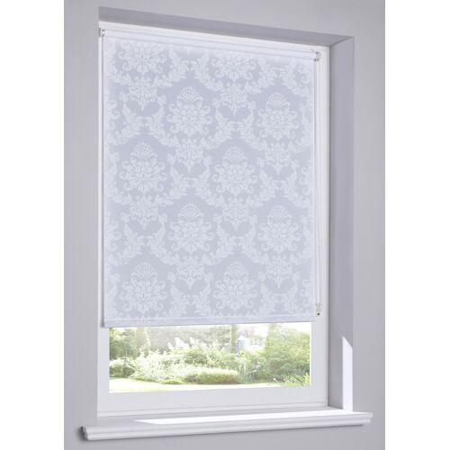 bonprix Sichtschutzrollo mit Ornament Druck weiß