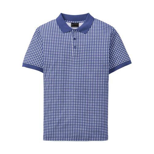 bonprix Trachten-Poloshirt, Kurzarm weiß