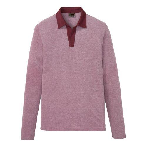 bonprix Poloshirt, Langarm rot