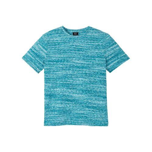 bonprix Hautfreundliches T-Shirt aus Baumwolle blau