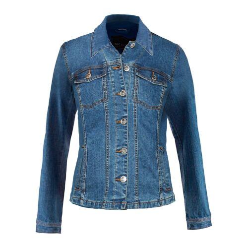 bonprix Jeansjacke blau