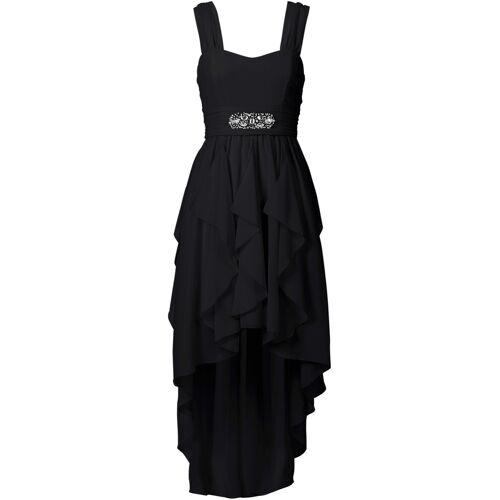 bonprix Vokuhila-Kleid schwarz